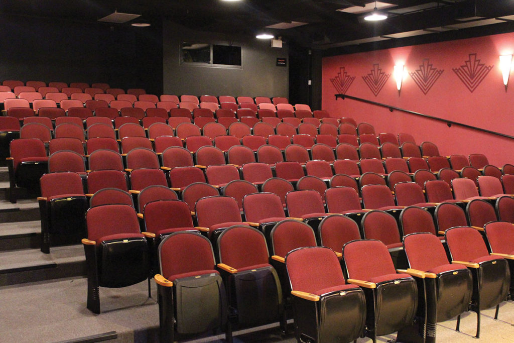 Seating inside the Port Stanley Festival Theatre