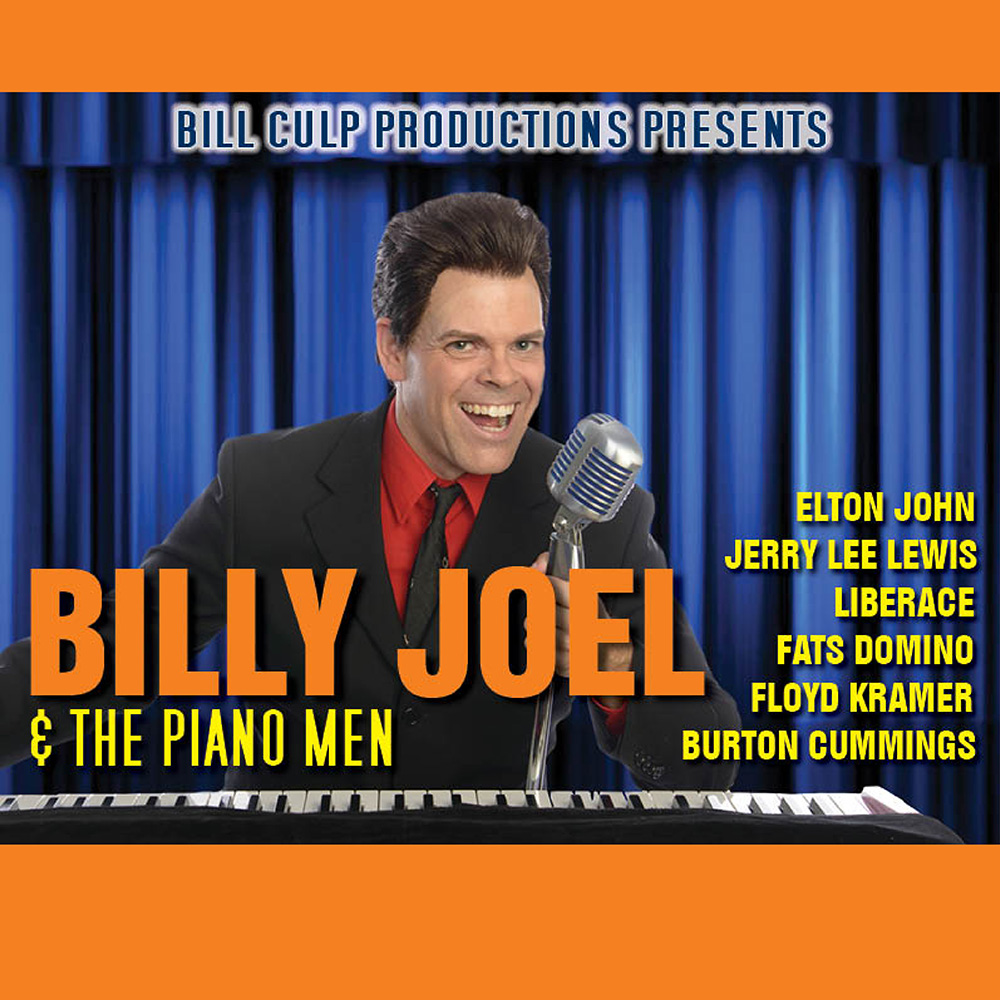 Billy Joel & the Piano Man starring Bruce Tournay