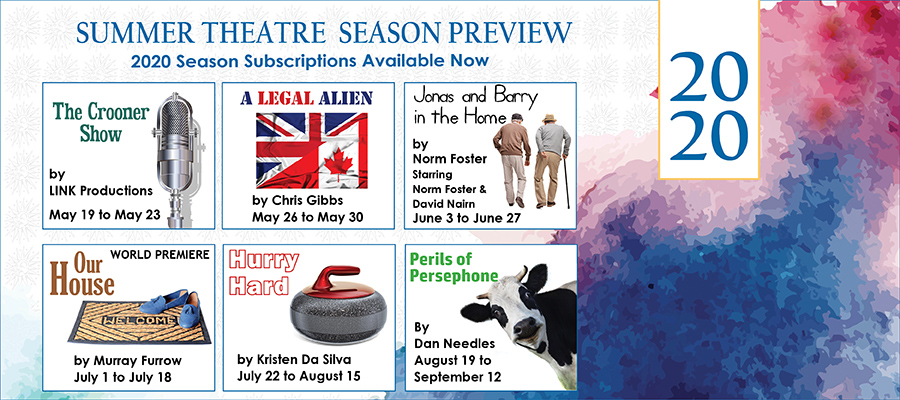 2020 Season Launch – Join us for six shows of summer fun!