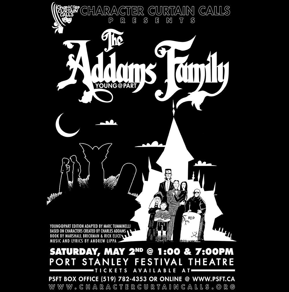 THE ADDAMS FAMILY young@part
