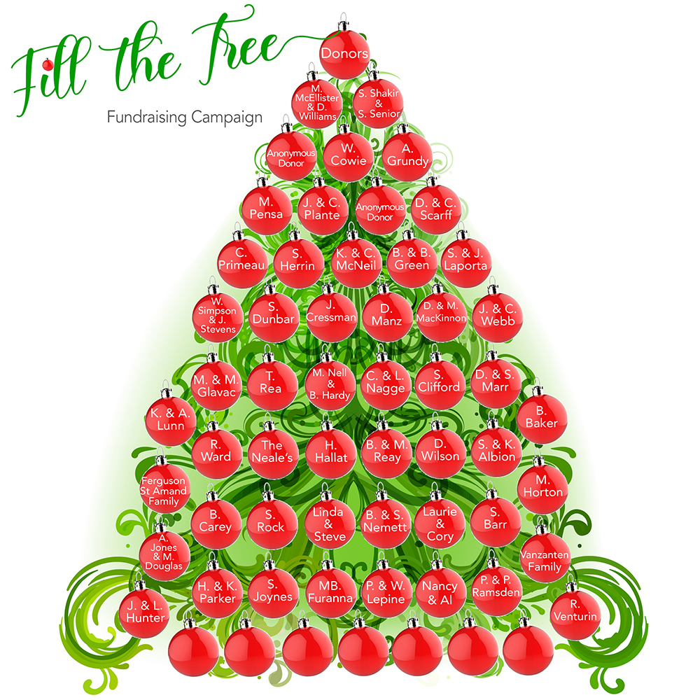 Fill the Tree Fundraiser